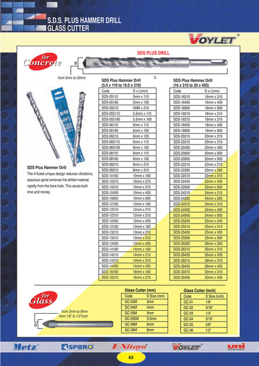 E-WEAL HARDWARE PTE LTD - HARDWARE TOOLS CATALOGUE - Page 64-65
