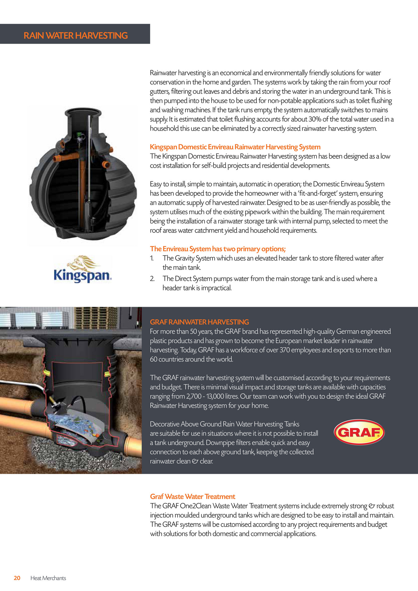 Home Water Treatment Systems Cost Heat Merchants Self Build Brochure Page 20 21 Created With