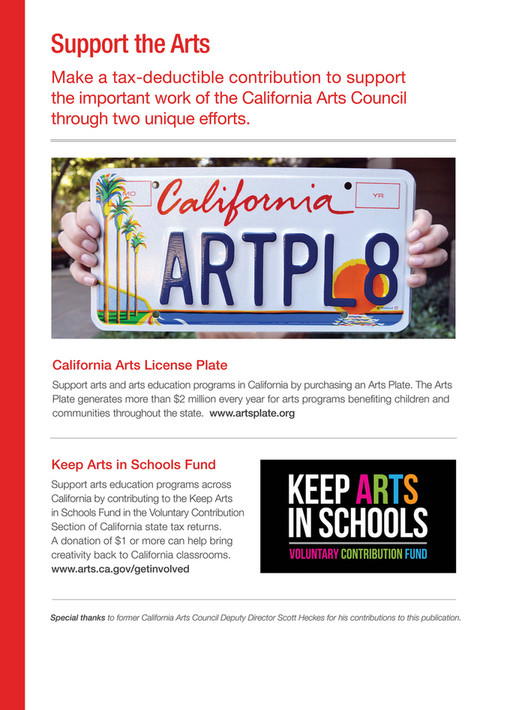 California Arts Council: Forty Stories, Forty Years #CAarts40 - Page
