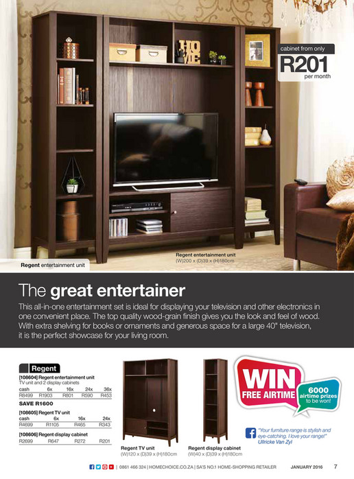 Homechoice   Furniture Catalogue (Jan 2016)   Page 4 5   Created With  Publitas.com