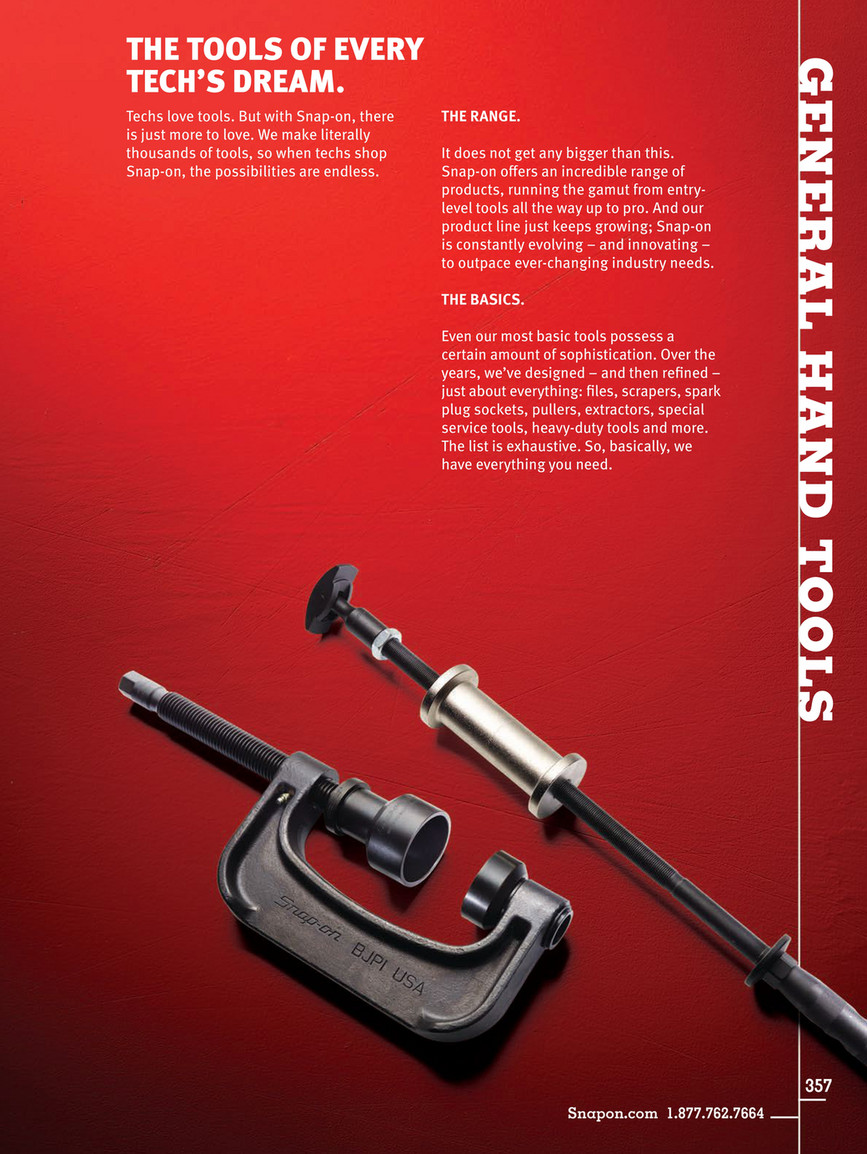 Example - Snap-on Tools - Catalog English CAT1300 - Page 360-361
