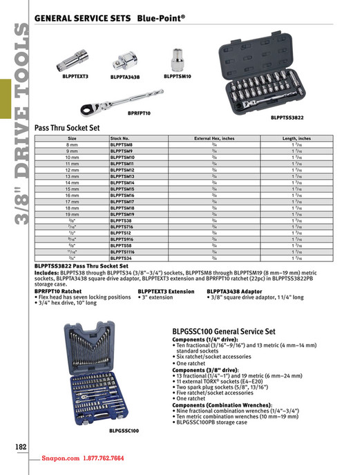 Example - Snap-on Tools - Catalog English CAT1300 - Page 186-187