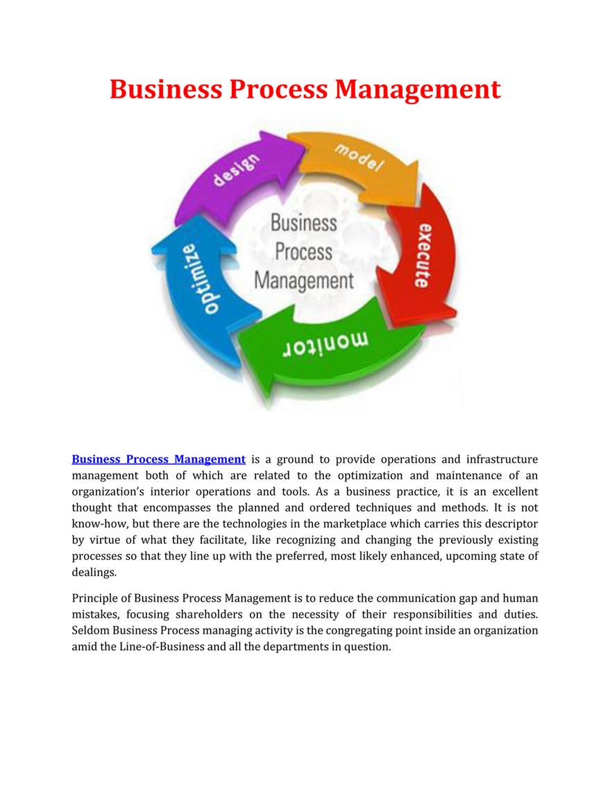 Management dummies pdf business for process