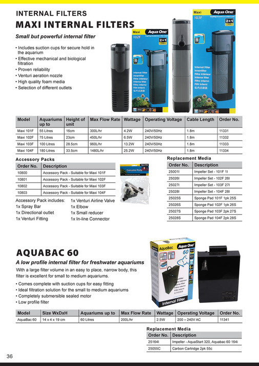 Aqua Pacific UK Ltd 2019 Catalogue - Page 36-37 - Created