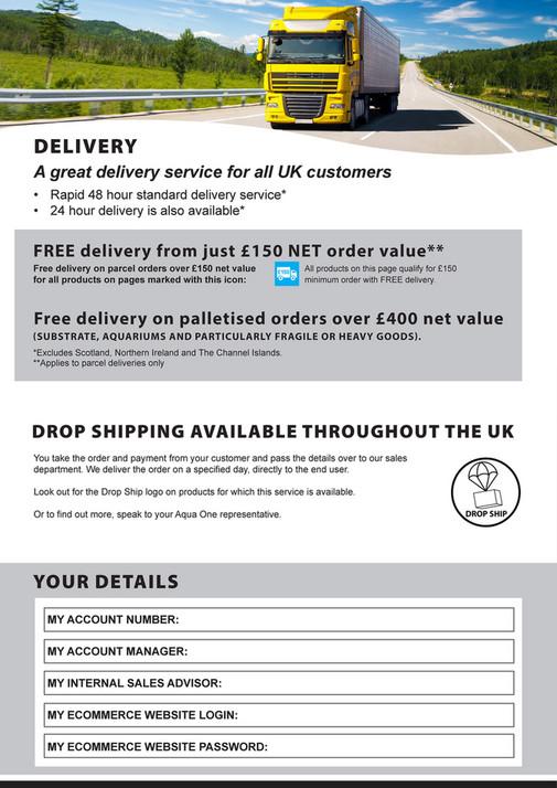 Aqua Pacific UK Ltd - Aqua One Trade Catalogue 2019 - Page 1