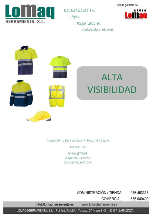 d426a4e983e My publications - CATALOGO DE ROPA Y CALZADO LABORAL - LOMAQ HERRAMIENTA -  Page 1 - Created with Publitas.com