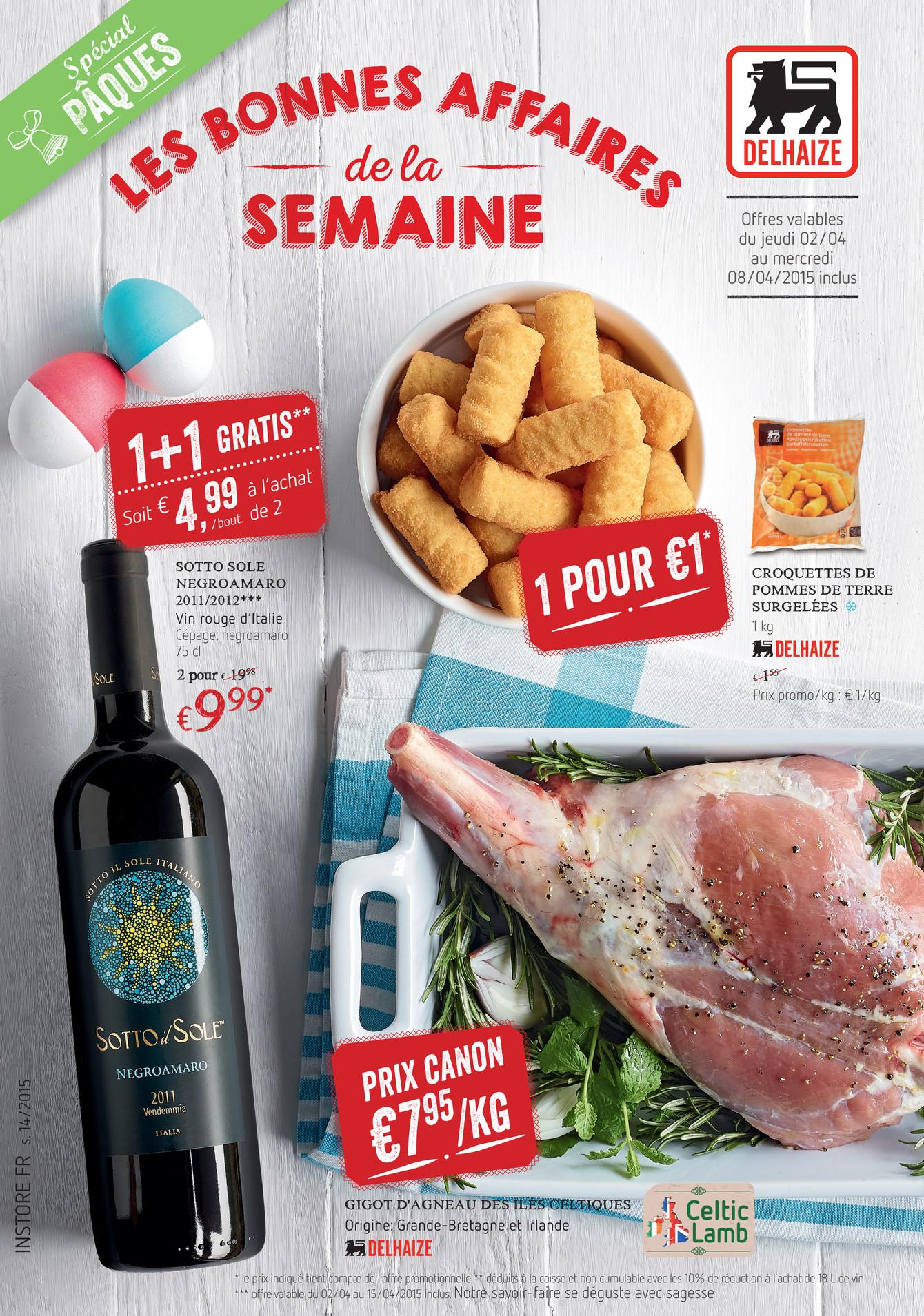 Prix Caisse A Pomme delhaize belgium fr - w14-fr - page 2-3