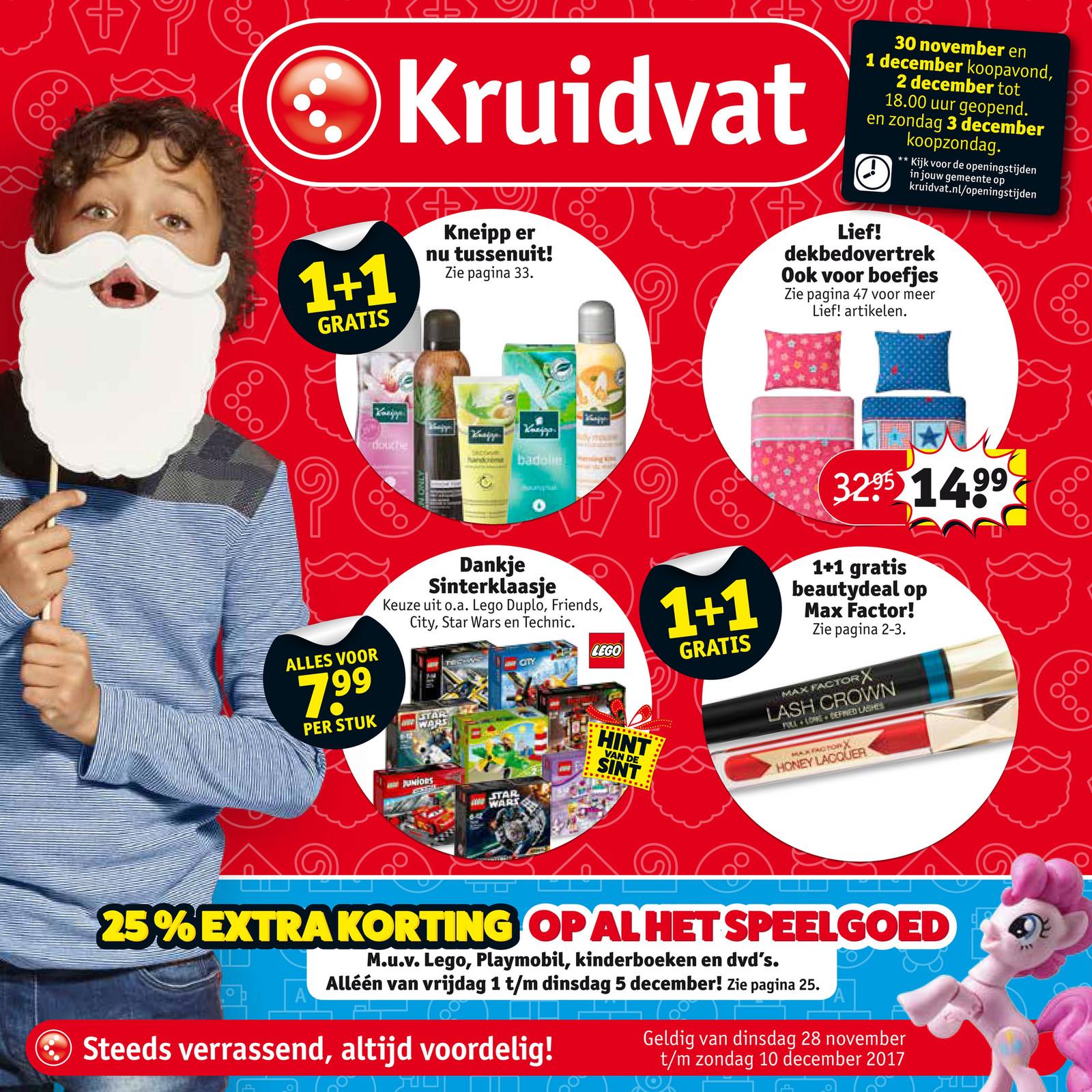 Kersttrui Kruidvat.Kruidvat Nederland Kruidvat Folder Week 48 Cm Pagina 60 61