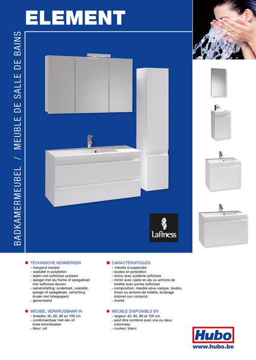 Hubo Catalogue Meuble De Salle De Bains Element Page 2 3