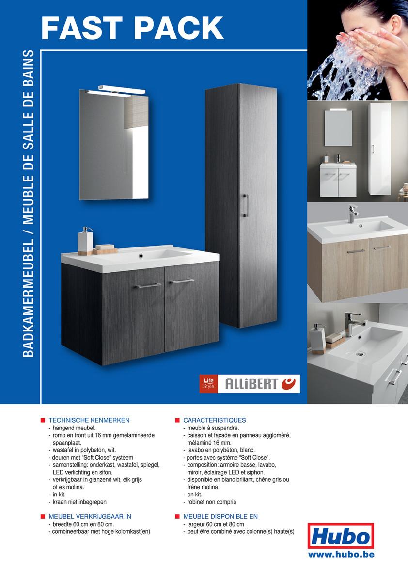 Hubo Catalogue Meuble De Salle De Bains Fastpack Page 2
