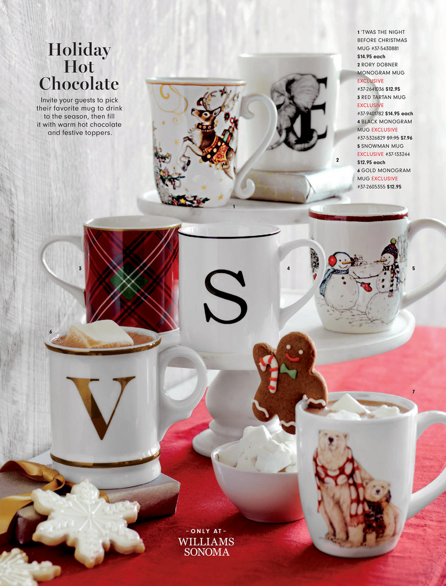 Williams Sonoma Thanksgiving 2019 Gingerbread House Mug Topper