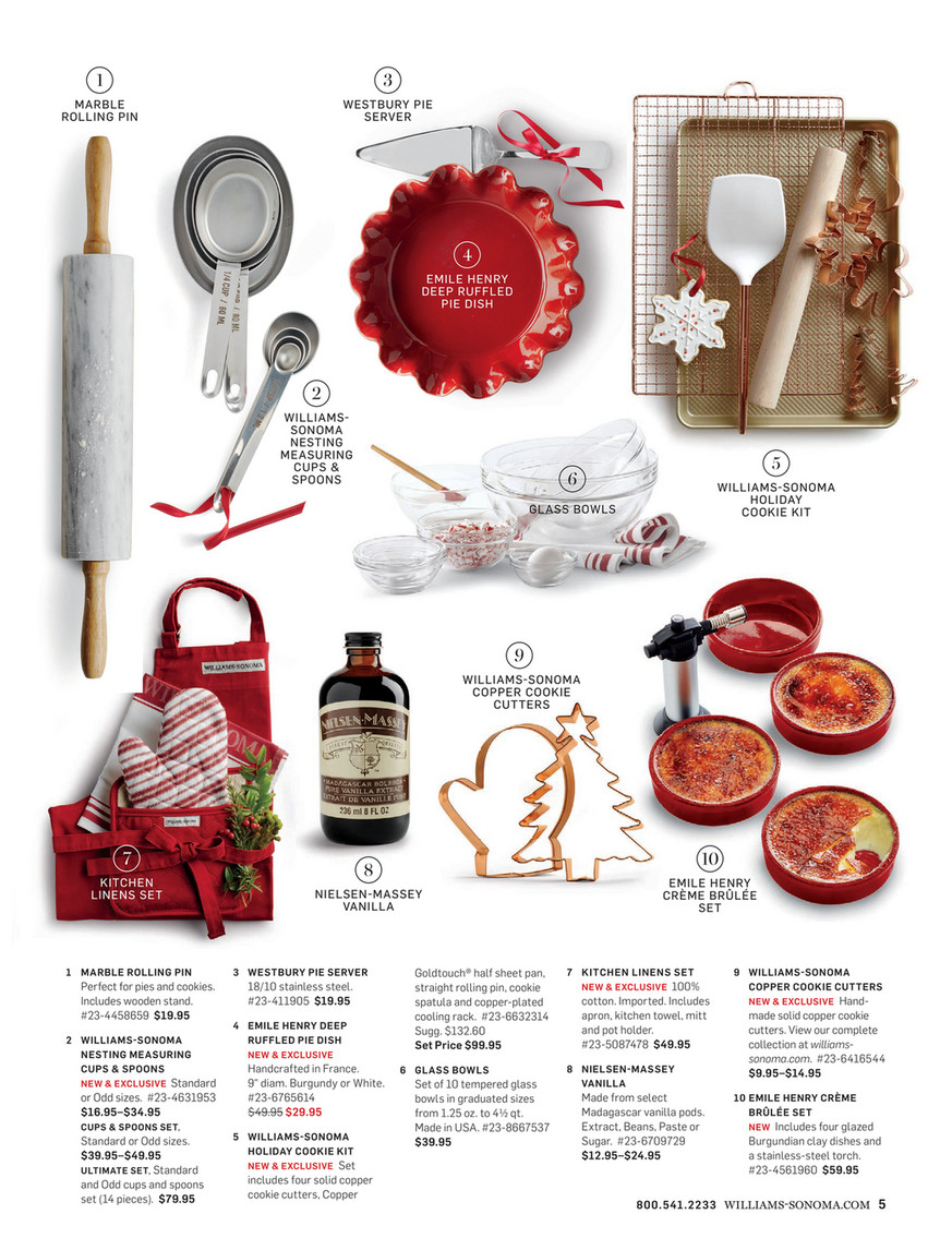 Williams Sonoma Holiday 2016 Great