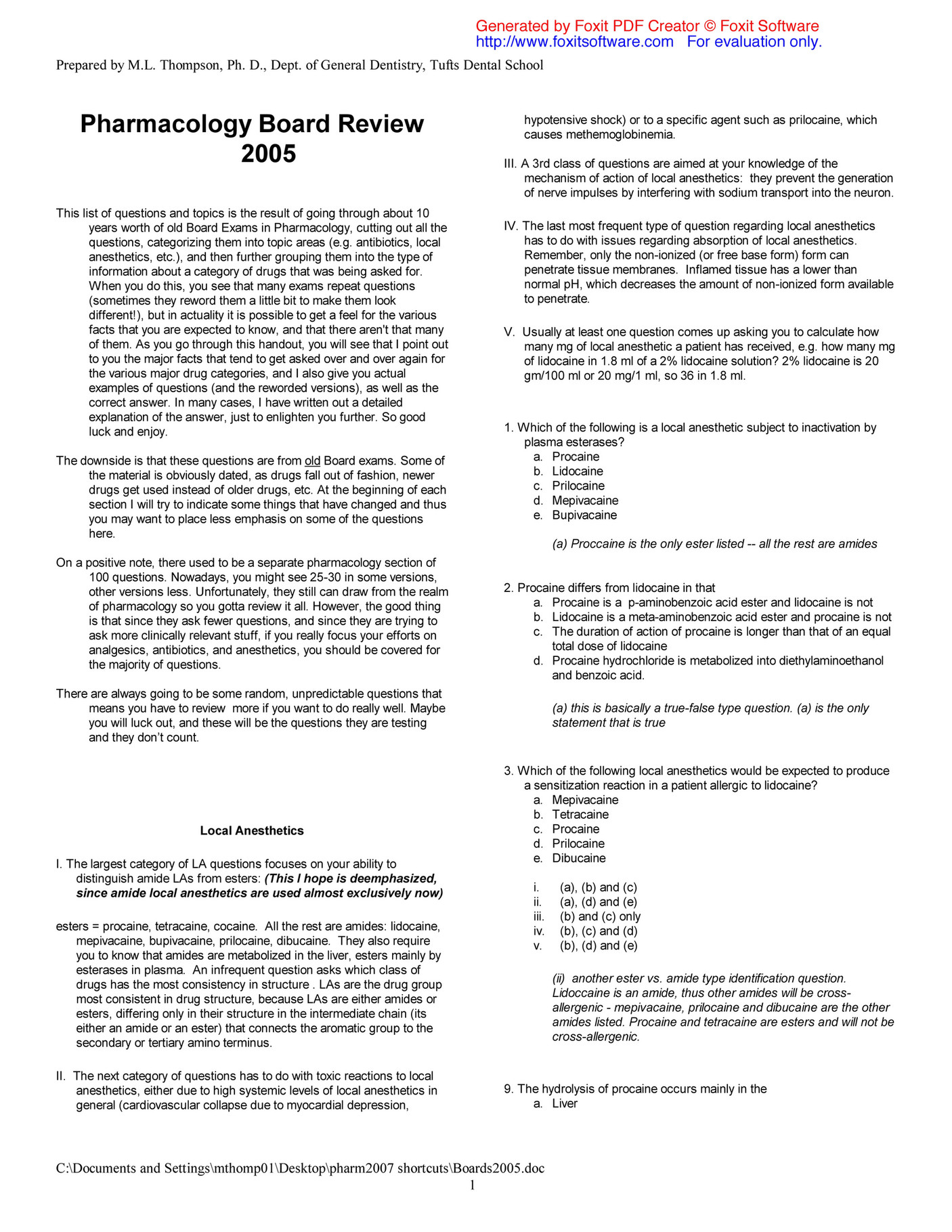DentEmp - PharmBoardReview - Page 1 - Created with Publitas com