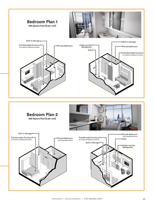 Bedroom Plan 1 240 Square Feet  8 per unit  Built in Storage Built. KTGY Architecture   Planning   EXPAND Magazine 2017 Design for
