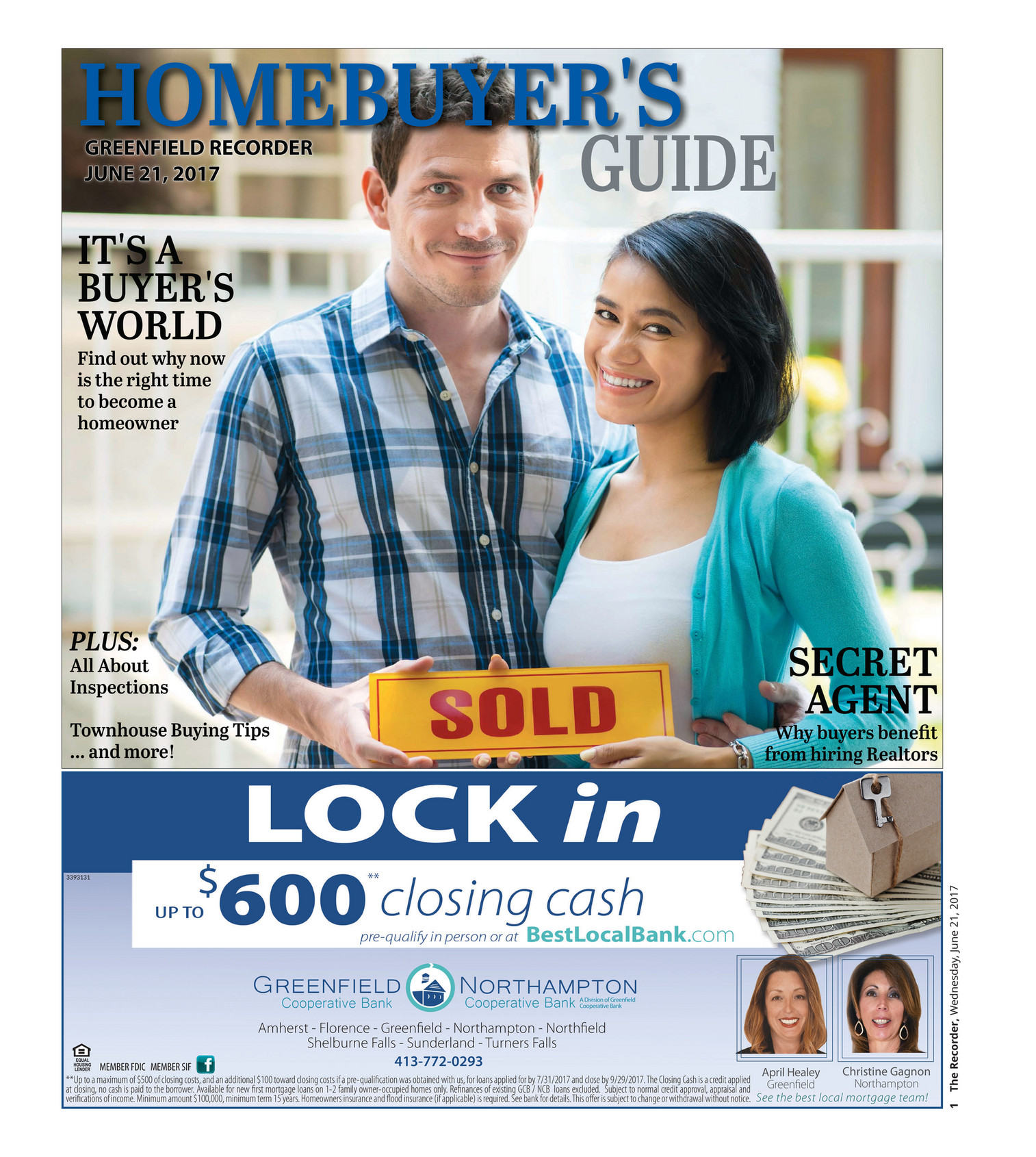 The Recorder - Homebuyers Guide 6-21-17 - Page 1