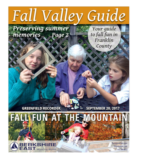 The Recorder - Fall Valley Guide 2017 - Page 1