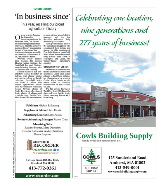 The Recorder - In Business Since 1-24-18 - Page 4-5