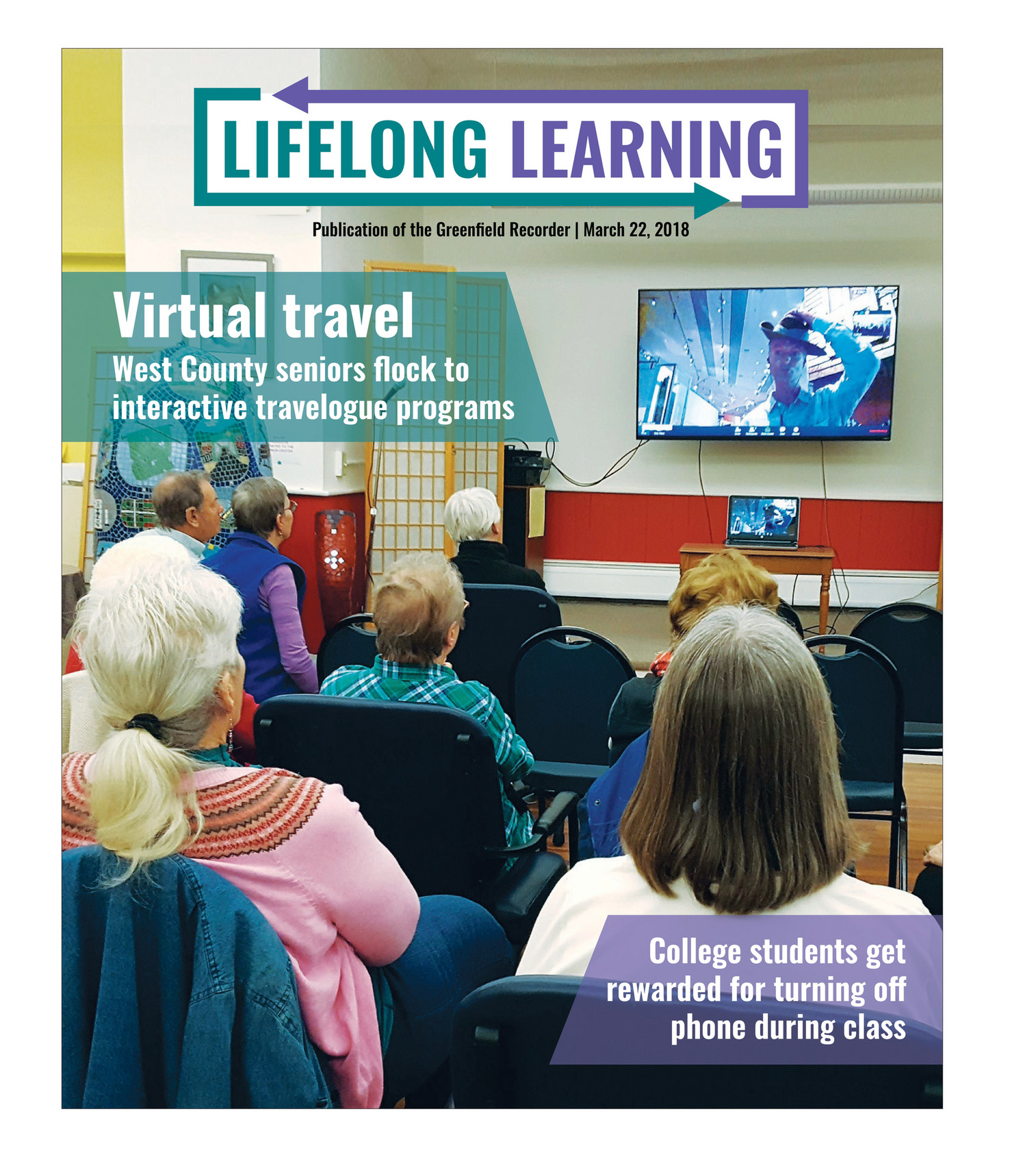 The Recorder - Lifelong Learning March 2018 - Page 2-3