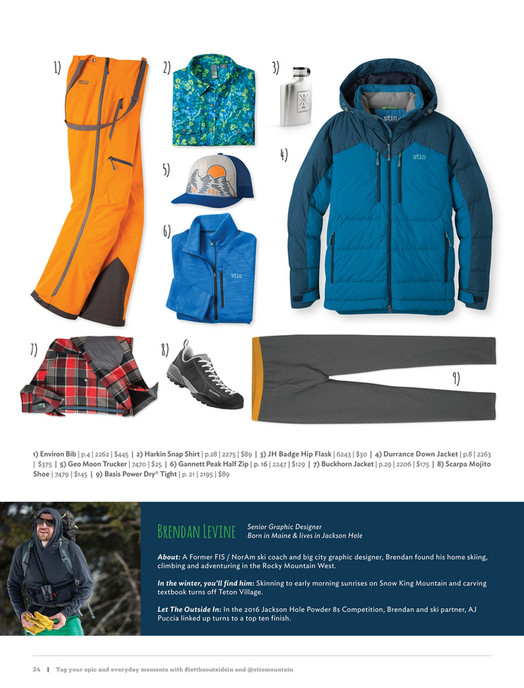 Stio - Winter 2016 - Page 24-25