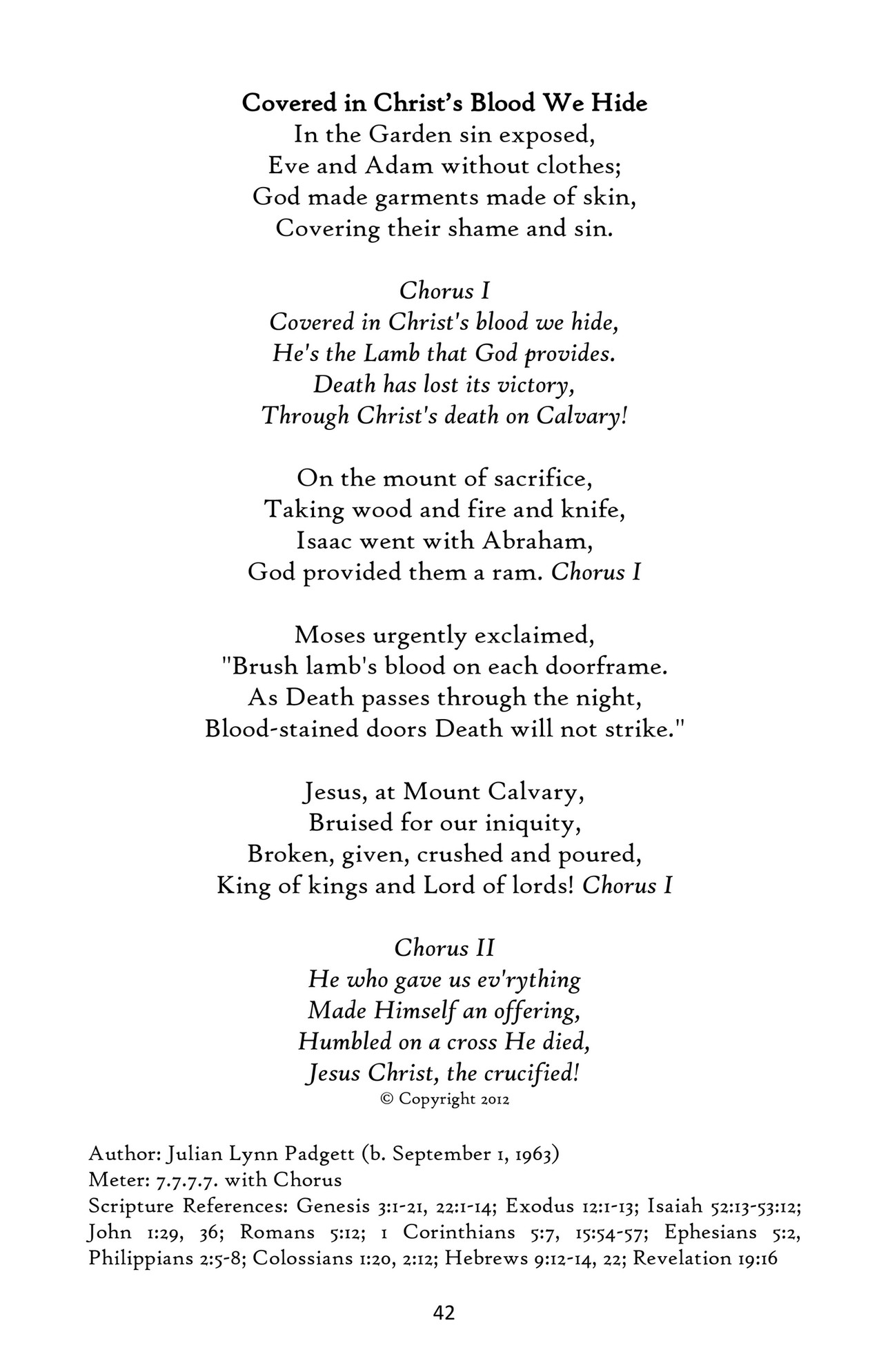 Colossians 3 3 this text provides a salvation history with four biblical scenes where sacrifice is central the first three verses are based on