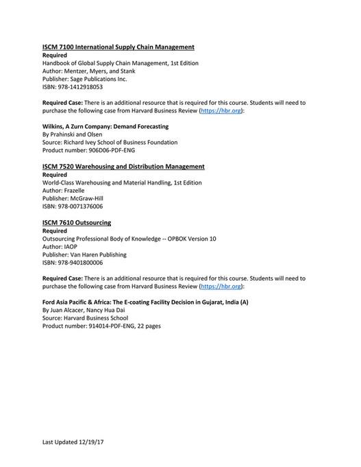UW-Platteville - Spring 2018 Textbooks - Page 24-25