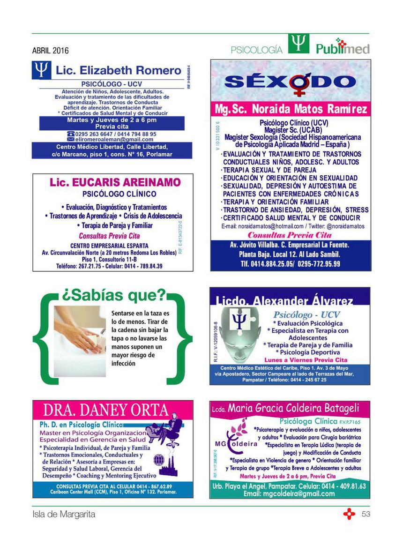 Publimedica Publimed Abril 2016 Página 52 53 Created