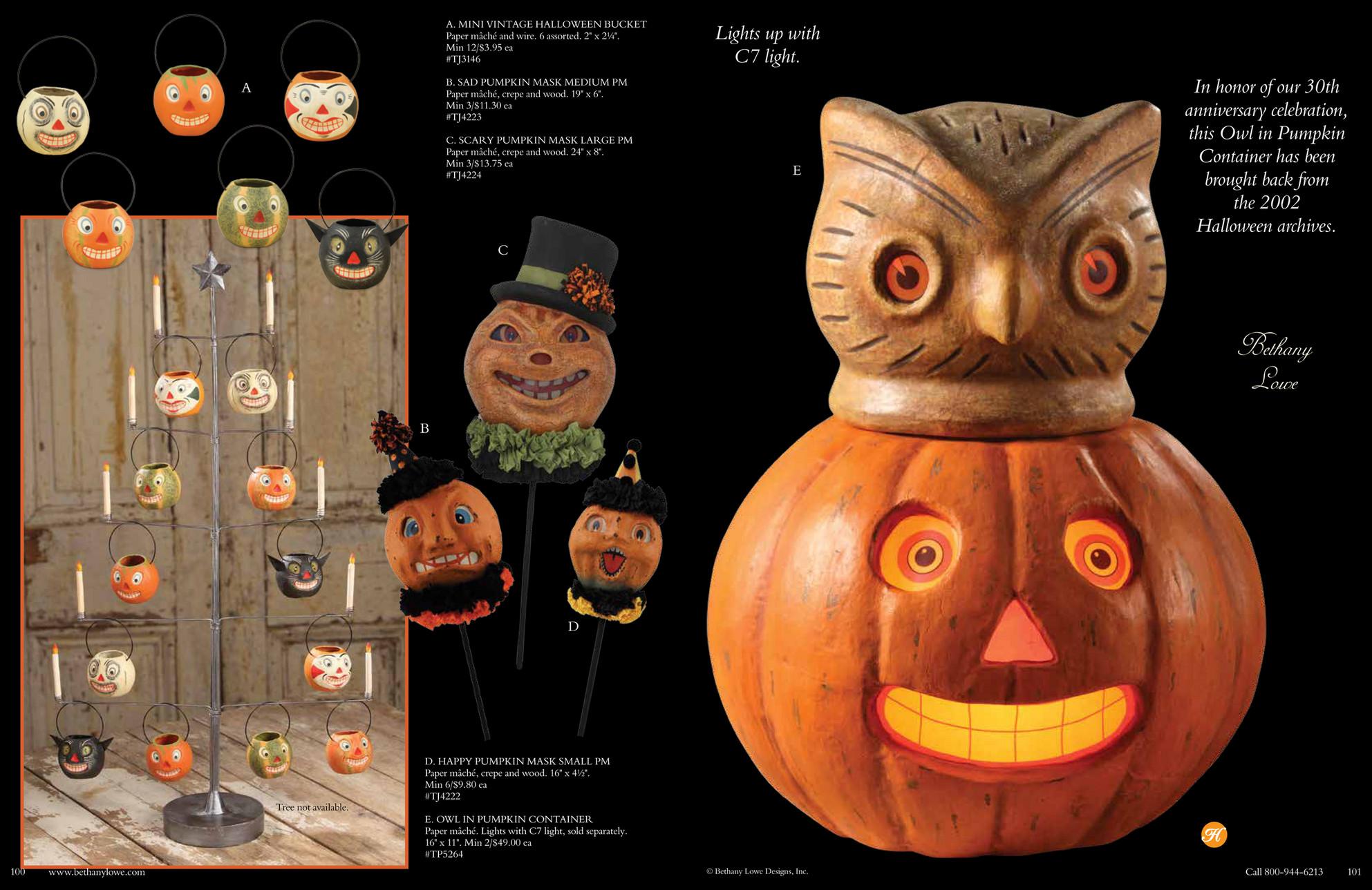 Bethany Lowe - Bethany Lowe Halloween Catalog - Page 52-53 ...