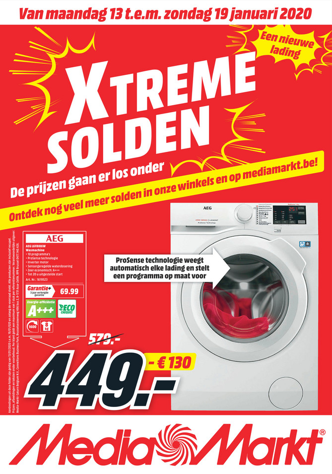 MediaMarkt folder van 13/01/2020 tot 19/01/2020 - Weekpromoties 03