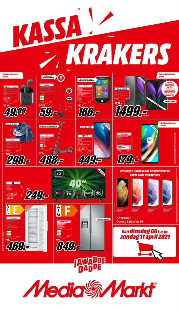 MediaMarkt folder van 06/04/2021 tot 11/04/2021 - Weekpromoties 14