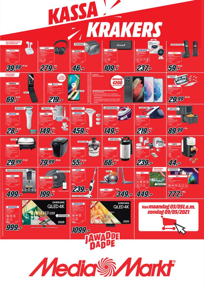 MediaMarkt folder van 03/05/2021 tot 09/05/2021 - Weekpromoties 18