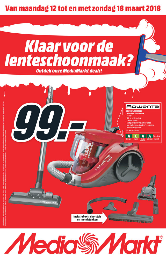 MediaMarkt folder van 12/03/2018 tot 18/03/2018 - Weekpromoties