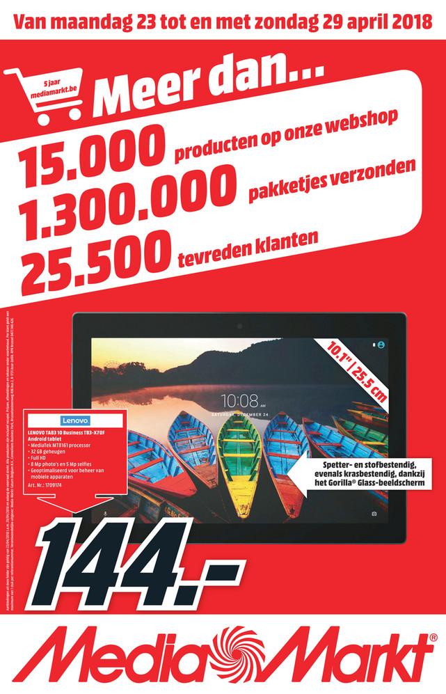 MediaMarkt folder van 23/04/2018 tot 29/04/2018 - Nationale_Flyer_Week17_FL.pdf