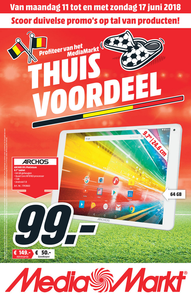 MediaMarkt folder van 11/06/2018 tot 17/06/2018 - Nationae_Flyer_midden juni.pdf