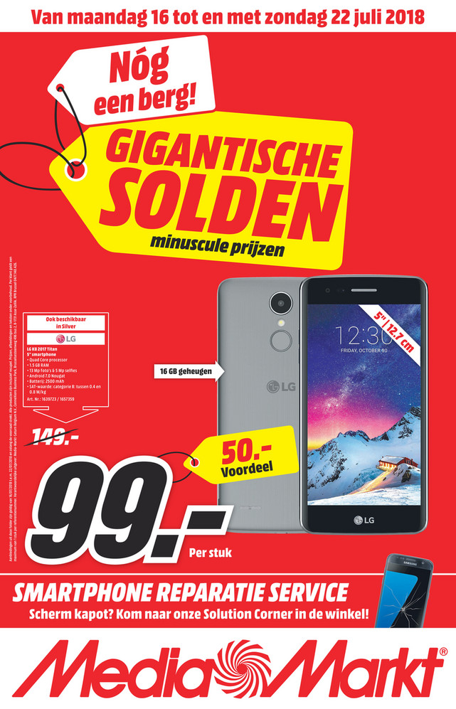MediaMarkt folder van 16/07/2018 tot 22/07/2018 - Nationale_flyer_Mediamarkt.pdf