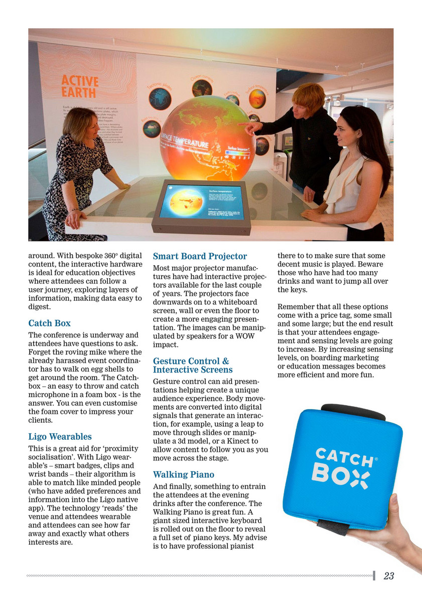 Event Industry News - Conference_Buyers_Guide_2018 - Page 24