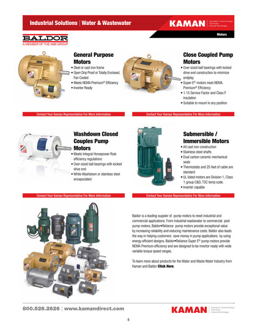 Kaman Distribution - Water/Wastewater Industrial Components Catalog ...