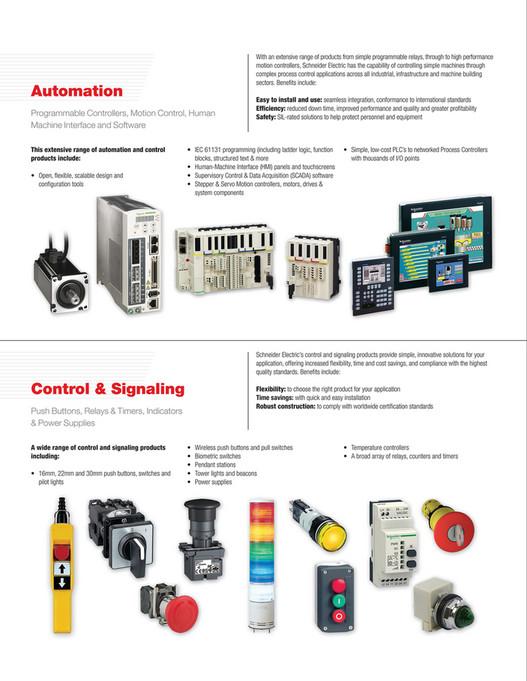 Kaman Distribution - Kaman & Schneider Electric Capabilities