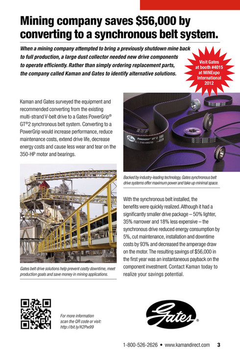Kaman Distribution - UP-TIME 12 2: Focus on Mining & Aggregate - Page 1