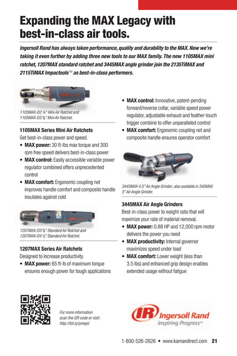 Kaman Distribution - UP-TIME 11 3: New Products Spotlight - Page 22-23