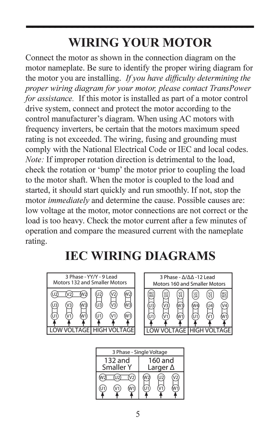 3 Phase 9 Lead Motor Wiring Diagram from view.publitas.com