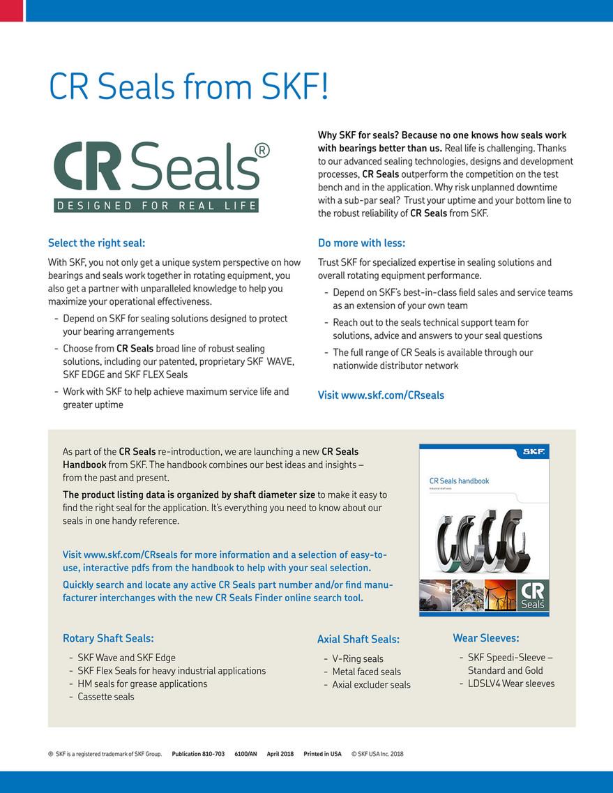 Kaman Distribution - CR Seals Brochure - Page 1