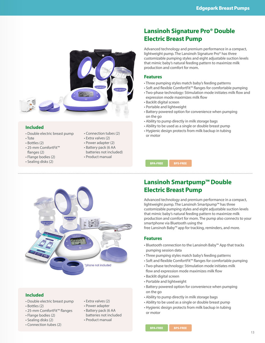 Edgepark Insurance Covered Breast Pumps Page 10 11
