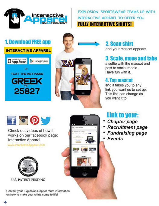 Explosion Sportswear - Greek Apparel Catalog - Page 1 - Created with