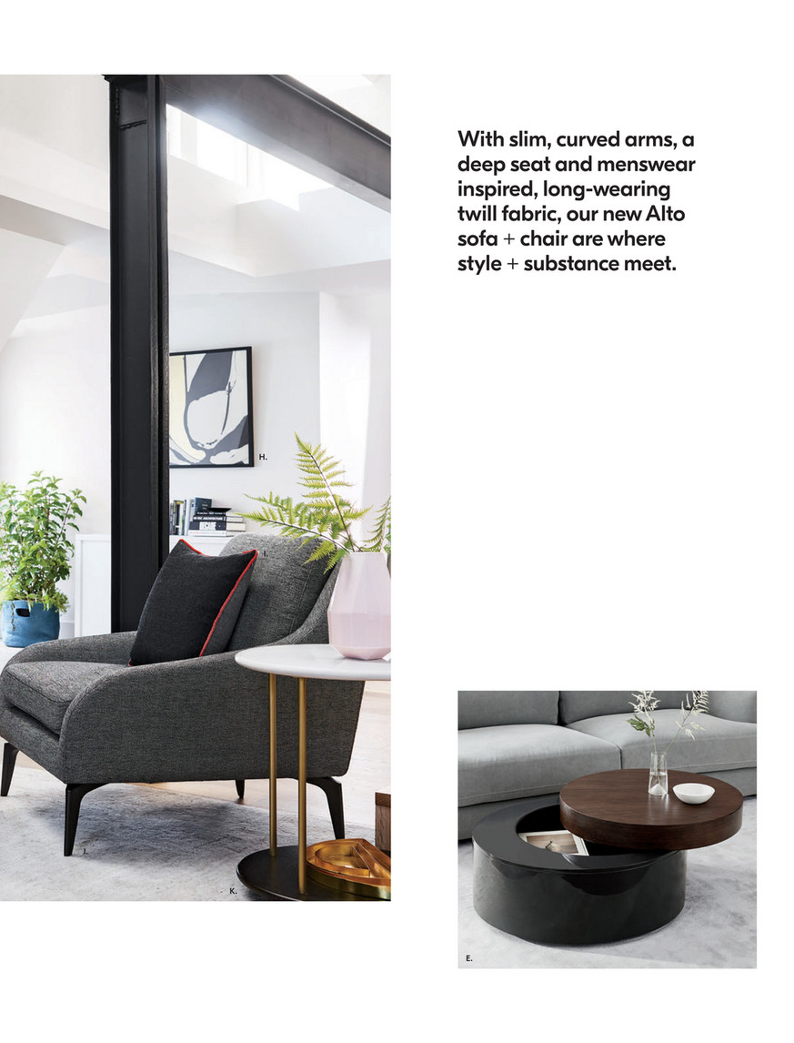 West Elm October 2018 Stacked Disk Storage Coffee Table