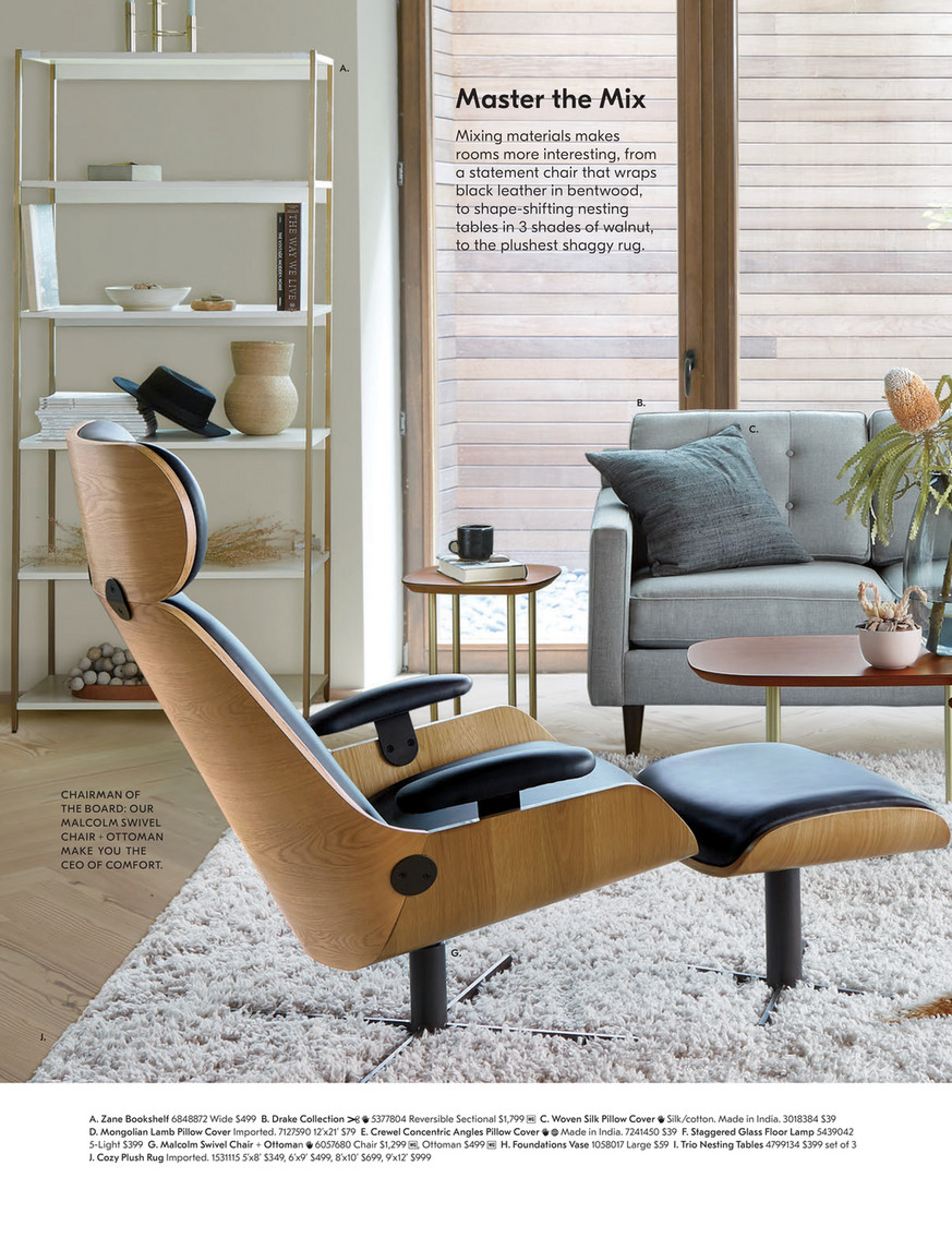 Super West Elm January 2019 Page 46 47 Pabps2019 Chair Design Images Pabps2019Com