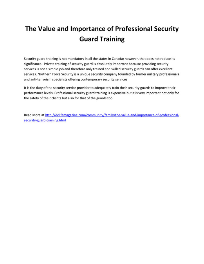 An Unbiased View of Private Security Guard Jobs