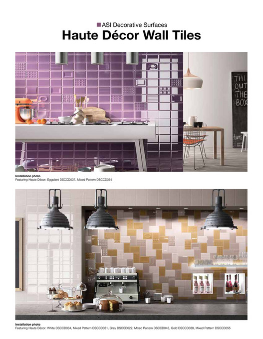 Architectural Systems Inc Asi Haute Decor Brochure Page 1