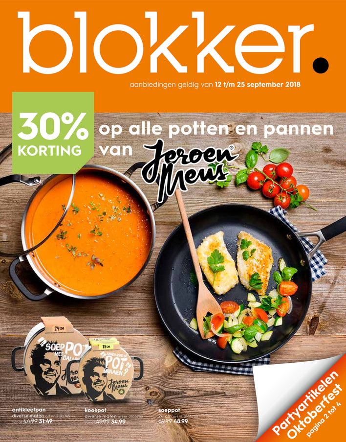 Blokker folder van 12/09/2018 tot 25/09/2018 - Weekpromoties 38