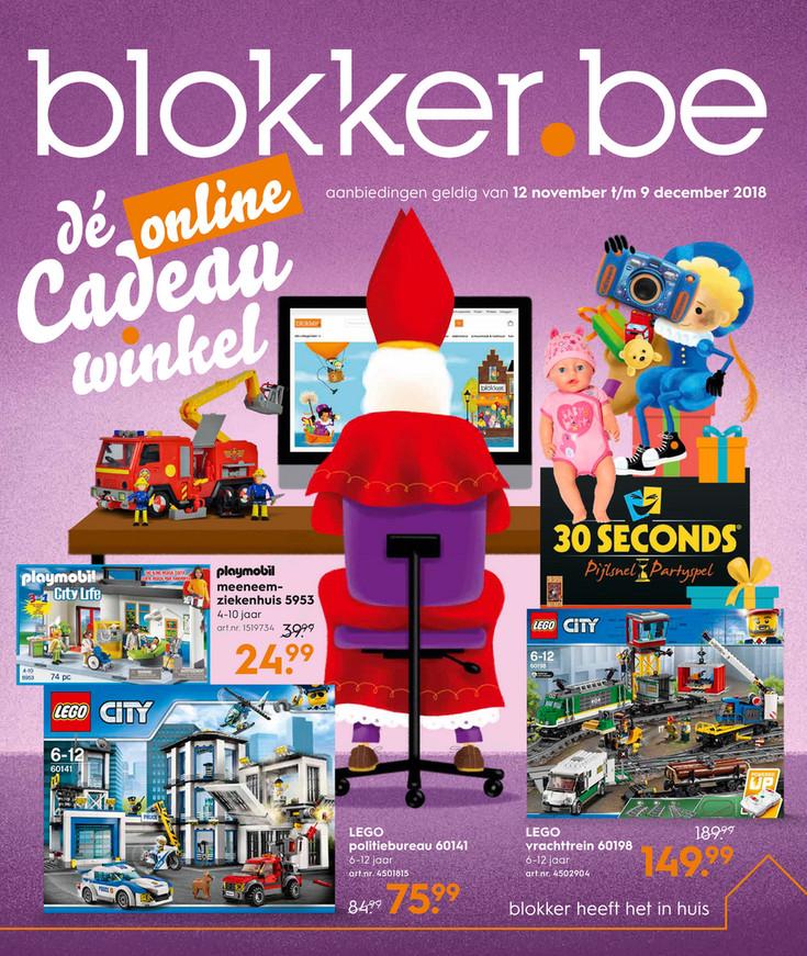 Blokker folder van 12/11/2018 tot 09/12/2018 - Weekpromoties 46