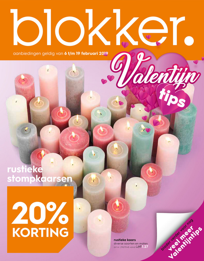 Blokker folder van 06/02/2019 tot 19/02/2019 - Weekpromoties 6